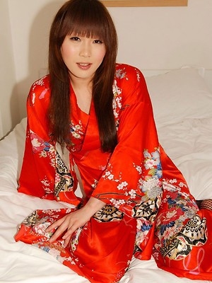 23 yr old Arisu is from Fukuoka, the largest prefecture located on the Kyushu Island